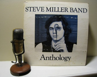 """ON SALE Steve Miller Band Vinyl Record Album 1970s """"Anthology"""" (1972 Capitol Records w/booklet, """"My Dark Hour"""", """"Space Cowboy"""", """"Livin in th"""