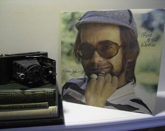 "ON SALE Elton John Vinyl Record Album 1970s British Pop Rock and Roll Classic Rock ""Rock of the Westies"" (w/ ""Island Girl"")Vintage Vinyl LP"