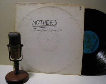 "ON SALE The Mothers (with Frank Zappa) Vinyl Record 1970s Alternative Classic Rock ""Fillmore East - June 1971"" (Original Bizarre Records MS"
