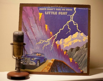 """Little Feat Vinyl Record LP 1970s Classic Rock and Roll Lowell George """"Feats Don't Fail Me Now"""" (Original 1974 WB w/""""Rock and Roll Doctor"""")"""