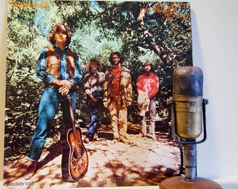 "ON SALE CCR (Creedence Clearwater Revival) Vinyl Record Album 1970s Classic Rock ""Green River"" (Orig.1969 Dark Blue Label Fantasy Records 83"