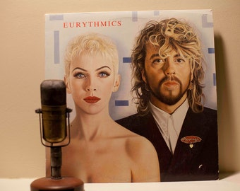 "ON SALE Eurythmics Vinyl Record Album ""Revenge"" (Original 1986 RCA Records w/color lyric inner sleeve, ""Missionary Man"")"