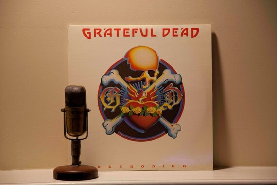 "Grateful Dead Vinyl Record Album Grateful Dead ""Reckoning"" (Original 1981 2LP Set - Arista w/photo inner sleeves and ""Ripple"")"