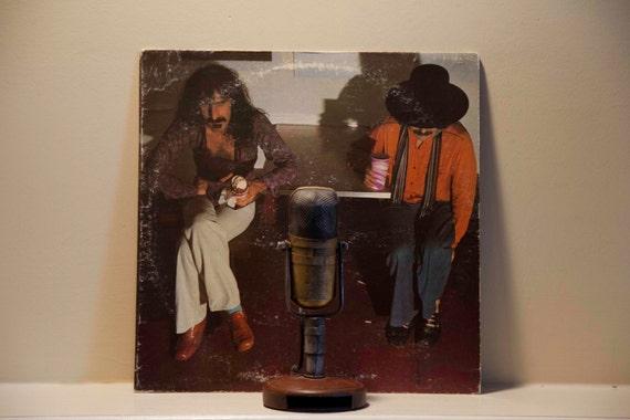 "Vinyl Record Album Frank Zappa & Captain Beefheart ""Bongo Fury"" (Original 1975 Discreet Records with ""Muffin Man"")"