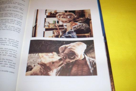 ET The EXTRA-TERRESTRIAL Storybook Vintage Book 1982