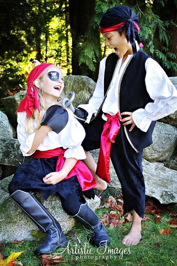 Pirate Pirates Boy Halloween Costume child