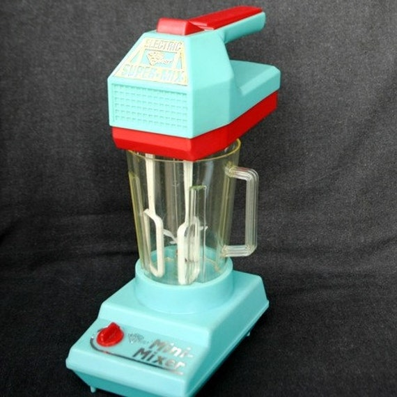 Perfect Mini-Mixer. Vintage collector toy.