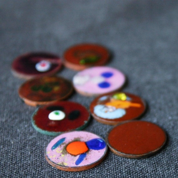 Beautiful enamels. The Sunday brunch series. RESERVED