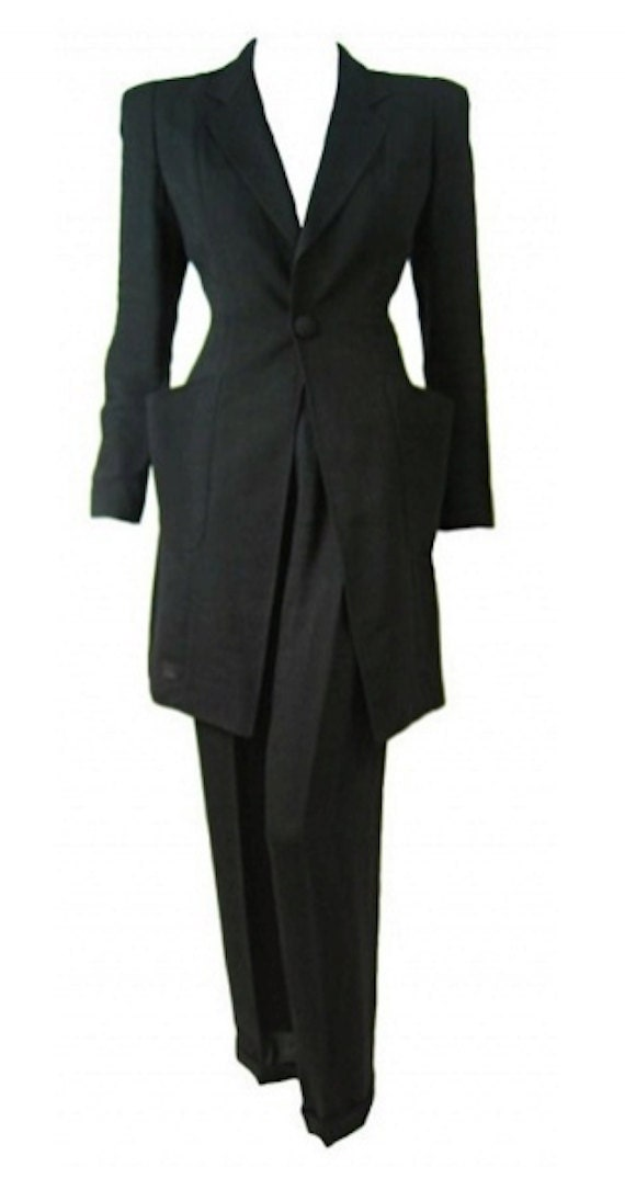 reserved 1980s vintage Jean Paul Gaultier two piece suit.