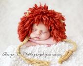 Download PDF crochet pattern 021 - Lion King bonnet - Size 0-3 months