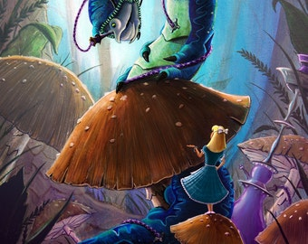 Alice In Wonderland (8x10)