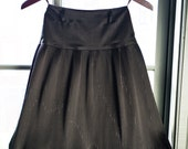 Vintage micro pleated BUBBLE SKIRT