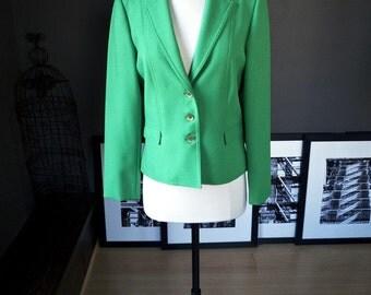 Forget Paris... Vintage blazer in s refreshing green