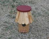 Round Birdhouse  Made To Order