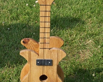 Guitar Birdhouse BUILT TO ORDER