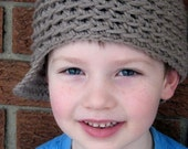 Crochet Hat PATTERN - Backtrack Beanie - REVERSIBLE Newsy Hat - All sizes - Easy - Sell what you make - pdf 102