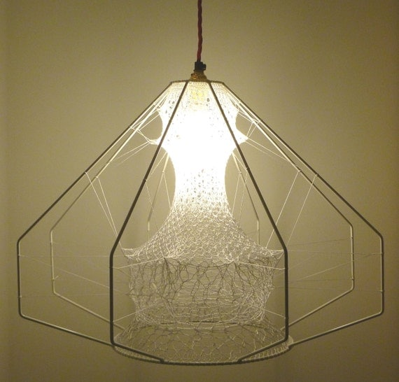 Ethereal Seed Lampshade  - Reserved for Beth
