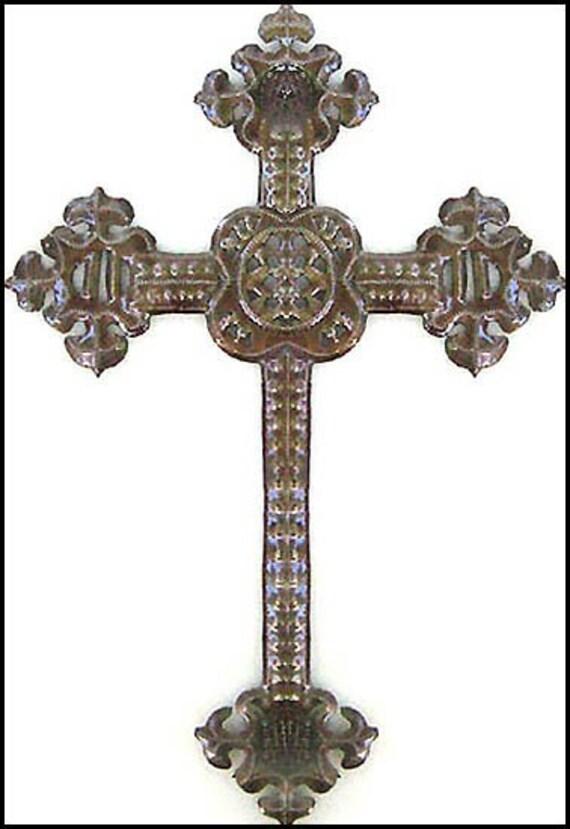 Metal Cross Wall Hanging 18 Decorative Cross Wall
