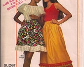 Simplicity 9232 Super Simple Boho Skirt Pattern