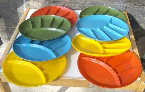 fondue plates set of 8