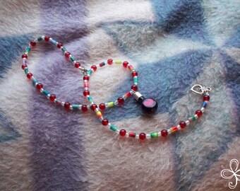 """Heart """"Love Potion Number Nine"""" Necklace"""
