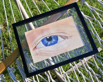 The Eye Watercolor Painting