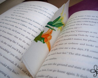 Two Lilies Bookmark