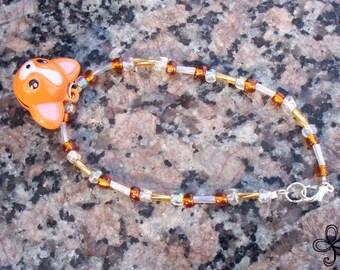Paco Bell Glass Bracelet
