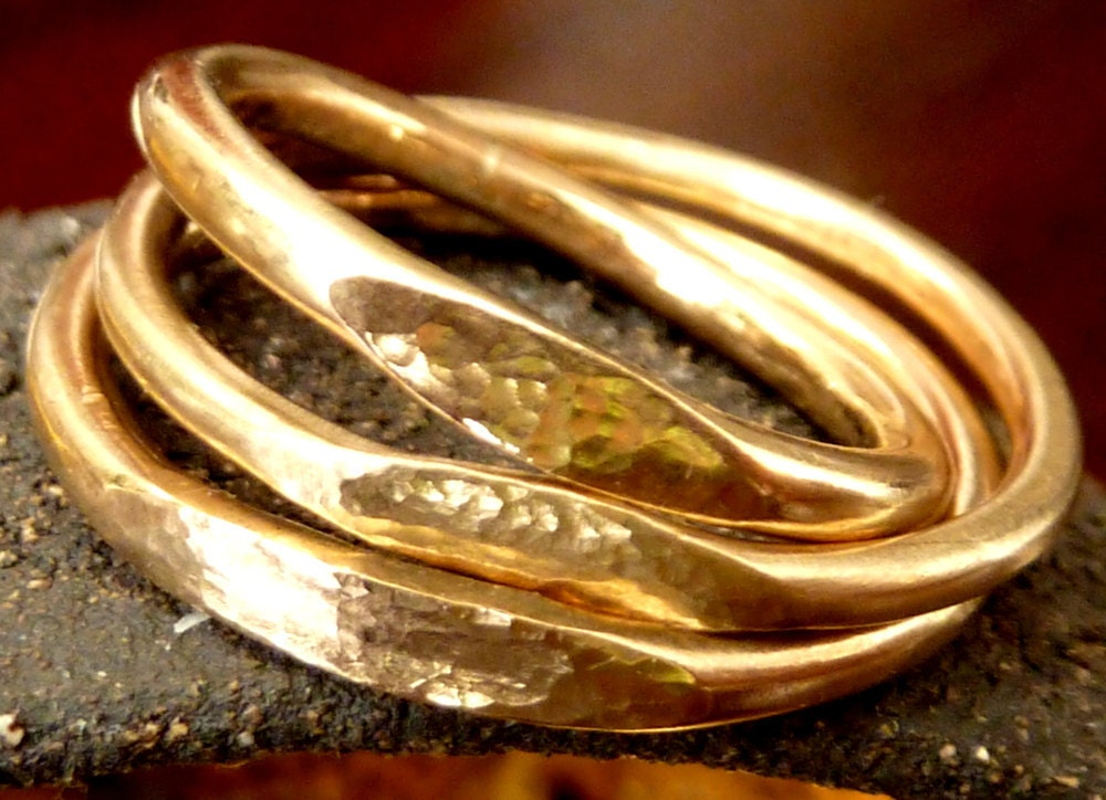 signet ring gold stacking ring st ring stackable ring