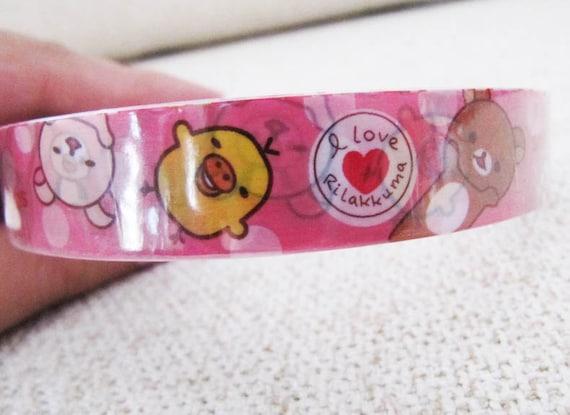 Rilakkuma: I Love Smile - Deco Sticky Tape