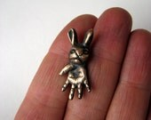 bunny pendant ugly cute