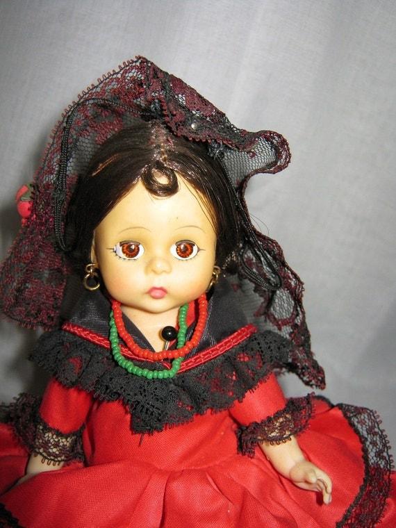 Vintage Madame Alexander Doll Bent Knee 8 Inch By Gatormom13