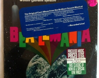 VERY RARE Beatlemania Vinyl Soundtrack John Lennon Paul McCartney- Sealed