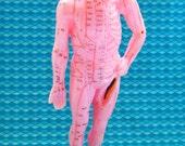 Acupuncture Model Training Human Figure Vintage Medical Anatomy Eastern Medicine Acupressure Chi Massage Chinese Healing