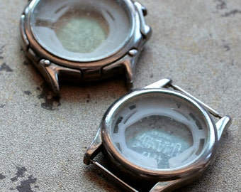 Wrist Watch Cases -- set of 2