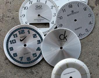 Wrist Watch Faces -- set of 6 -- D6