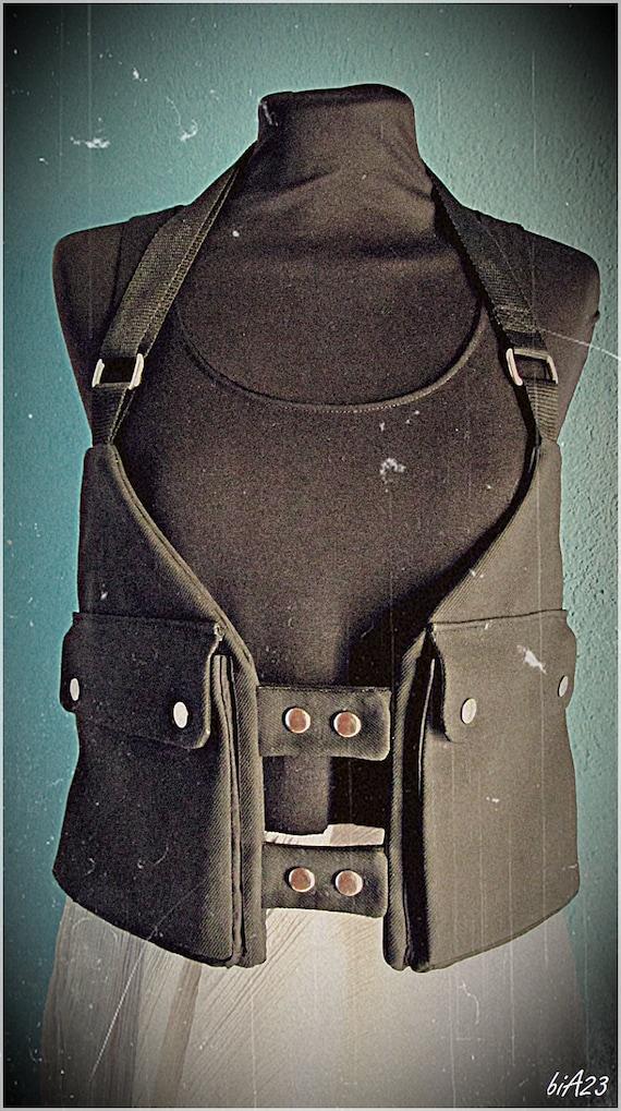 Holster vest // Festival bag // Holster bag