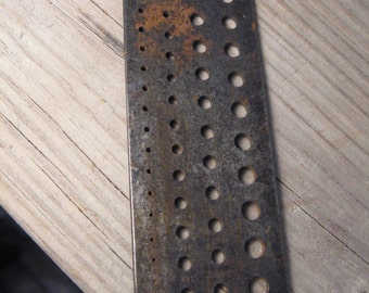 vintage steel drill gauge