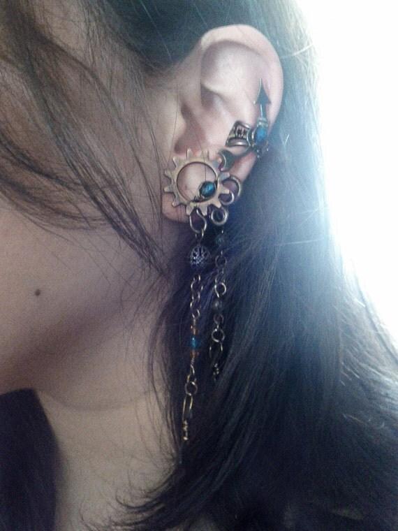 Steampunk Faerie Ear Cuff