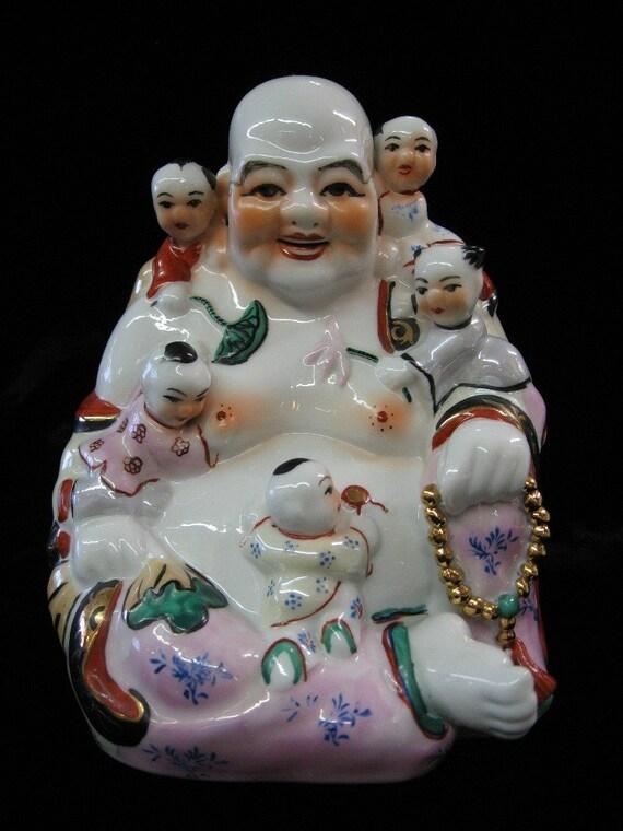 Laughing Fertility Buddha Figurine
