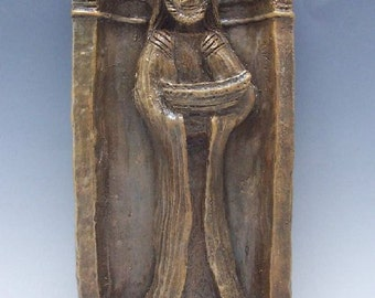Handmade St. Jude Statue: Healer, Patron of Those in Difficult Situations