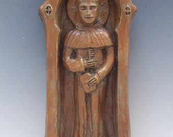 Handmade St. Anthony Statue: Finder of Lost Things