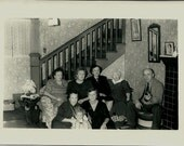Old Photo - Family Gathering - Group Photo - Circa 1950s