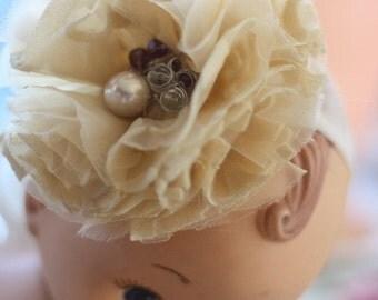 Fabric Flower Pattern, Fabric Flower Tutorial, CARNATION, Wedding Bouquet, Hair Flowers, diy Fascinator, Headband Tutorial, Bridal Sash