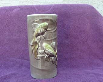 Royal Copley Vase with Fish Design