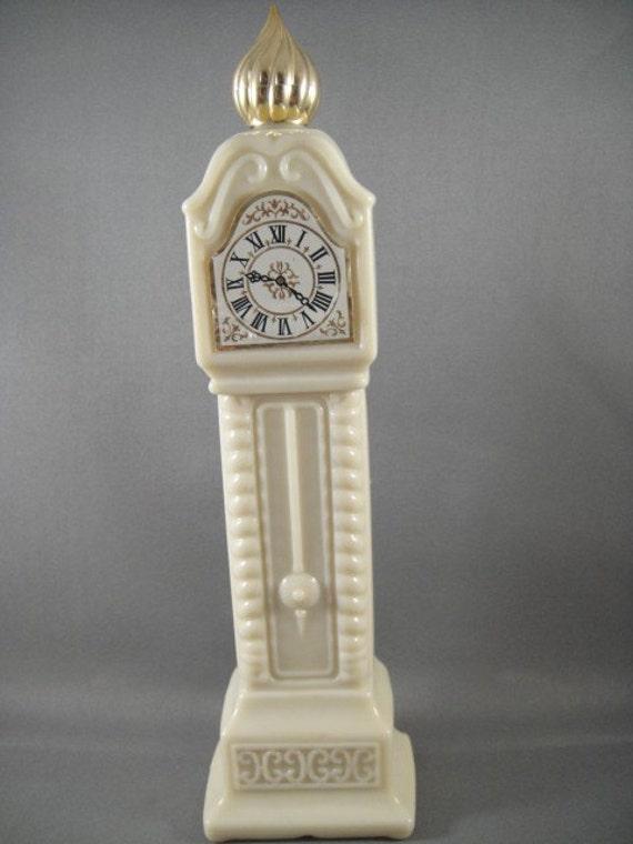 Avon Grandfather Clock Fragrance Hours By Wishingwellsglass