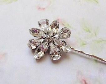 wedding hair  ACCESSORIES ,BRIDAL hair pin,  , head piece, vintage style, Rhinestones,