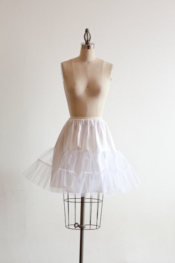 White Petticoat  - Available  Only  With Another Item