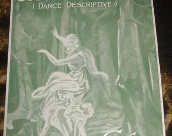 Ghost Dance (Dance Descriptive) Sheet Music Cora Salisbury 1919