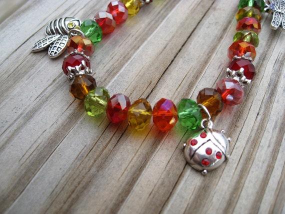 REDUCED PRICE - Garden Buddies bracelet